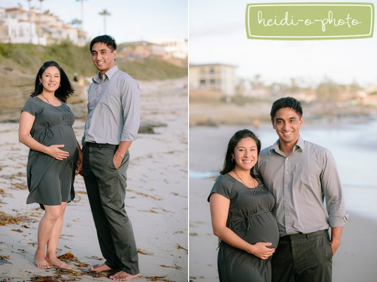 la jolla beach maternity pregnancy photo session natural