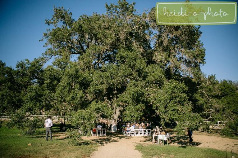 circle oak ranch wedding photography oak grove ceremony photos
