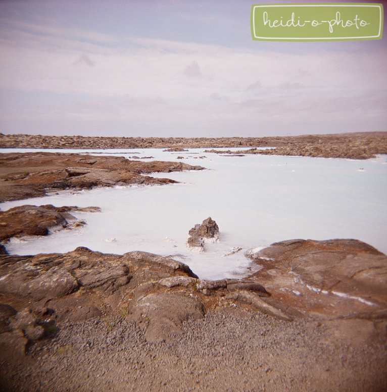 blue lagoon iceland film photo