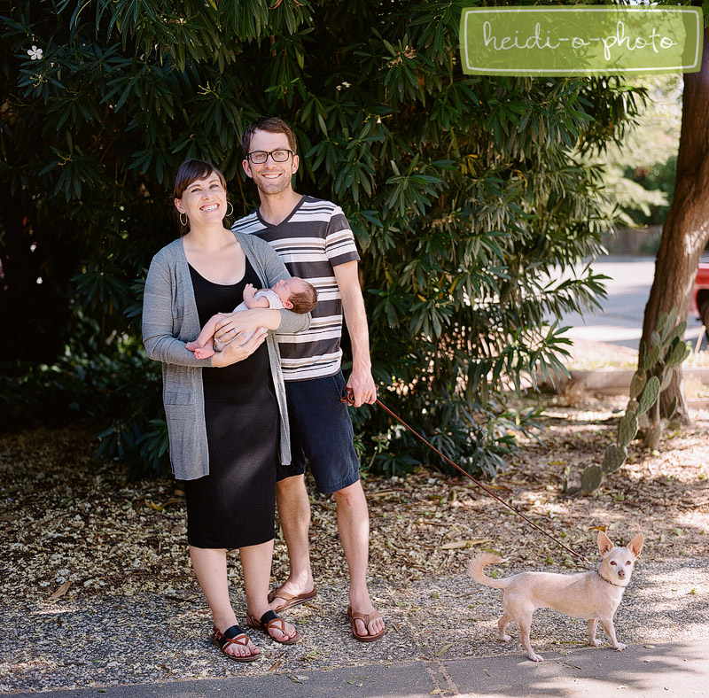 davis, california baby family photography