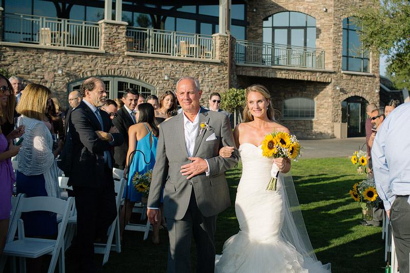 the crossings carlsbad california wedding ceremony photo