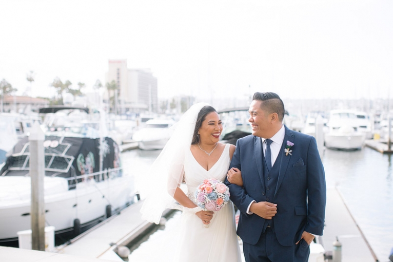 sheraton harbor island san diego wedding photographer