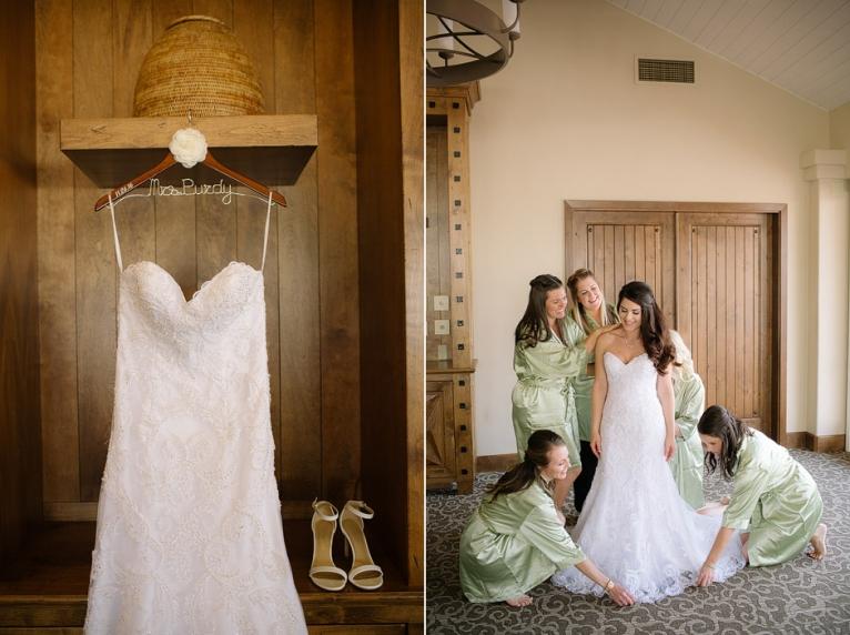fairbanks ranch country club rancho Santa Fe California wedding photo getting ready