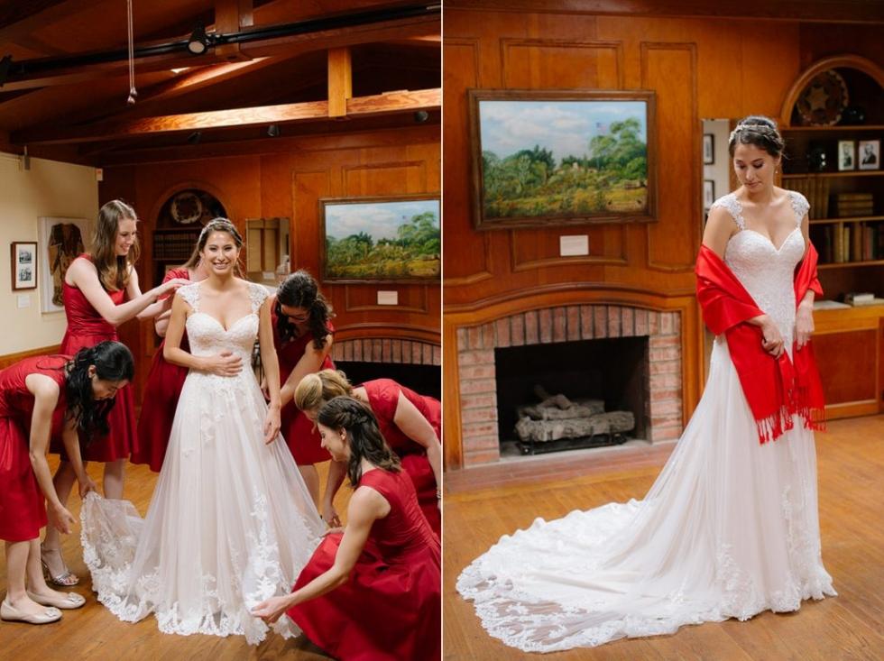 San Diego botanic garden wedding photography